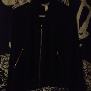 Silky lightweight bomber jacket